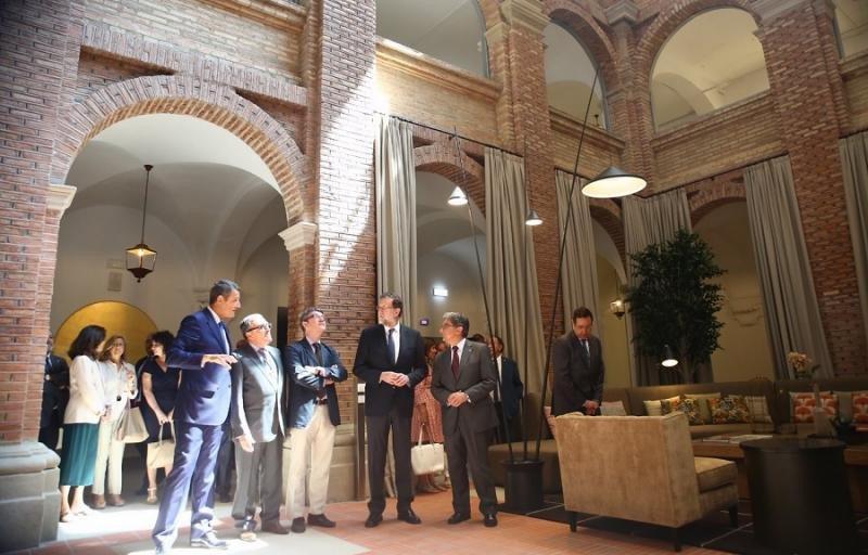 Turespaña ha invertido casi 15 millones de euros en la reconversión del convento en Parador