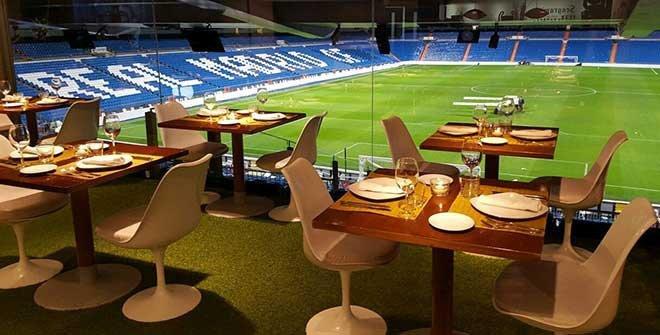 El Real Madrid cuenta con dos establecimiento, uno en el estadio Santiago Bernabéu y otro en Dubai.