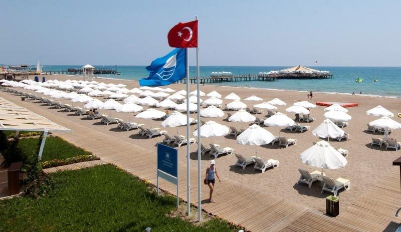 Imagen de una playa de Turquía.