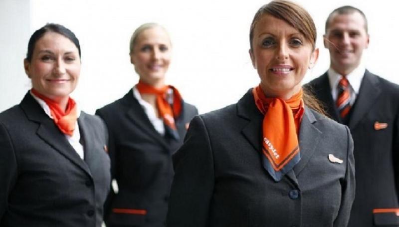 1.200 tripulantes de cabina de pasajeros para easyJet.