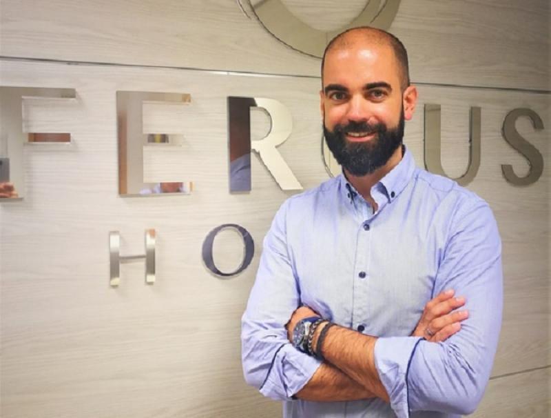 Bernat Vicens, director general de Fergus Hotels.