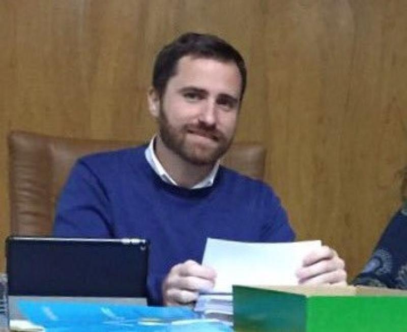 Isaac Castellano, nuevo consejero de Turismo de Canarias. Fotografía extraída de su perfil de Twitter.