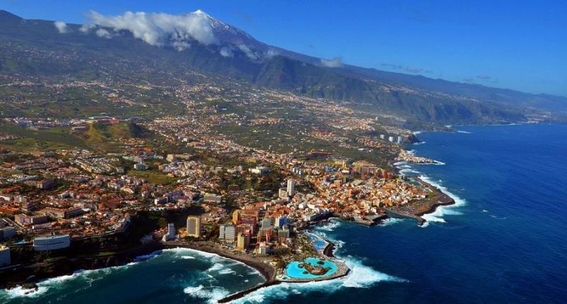 Tenerife recupera rutas con Rusia en otoño (Foto: fotosaereasdecanarias.com).