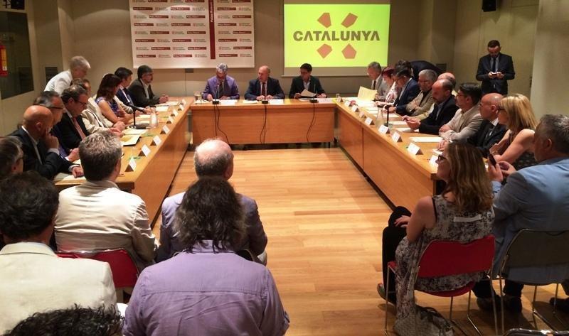 Presentación del nuevo sistema de inteligencia turística de Cataluña.