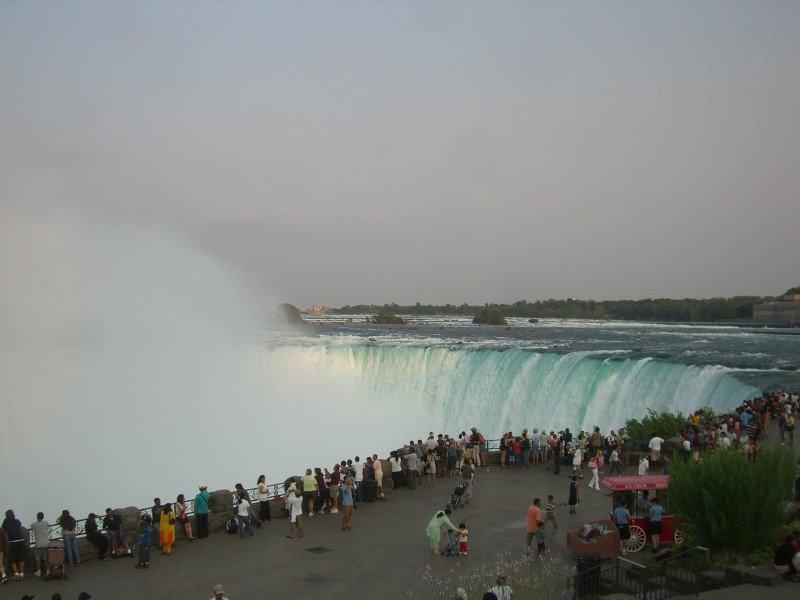Cataratas del Niagara. Foto: Wikimedia Commons.