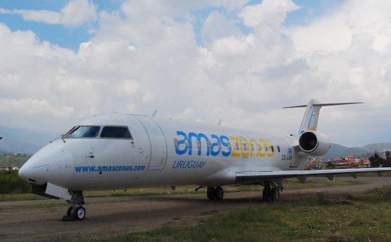 La aerolínea prepara el arribo de la tercera aeronave de su flota uruguaya.