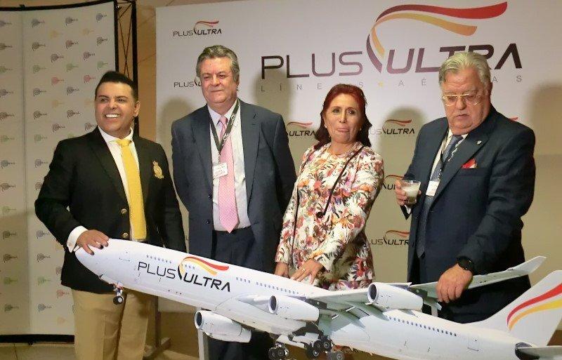 En la ruta Madrid-Lima la venta creció 65% este año, afirman los directivos de Plus Ultra.