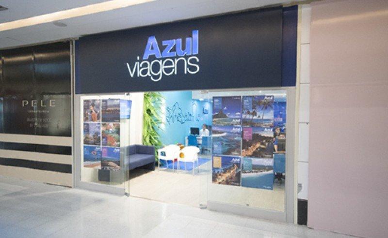Local de Azul Viajes. Foto: Shopping Recife.