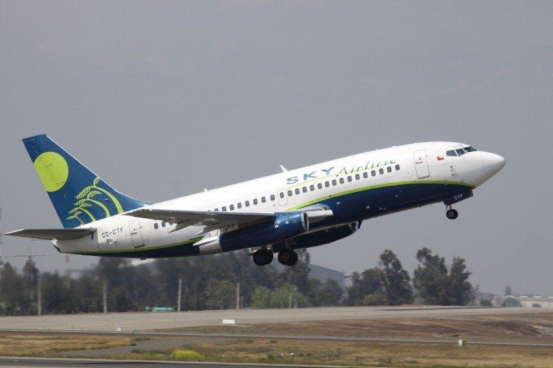 Sky Airline volará entre Rosario y Santiago de Chile desde el 3 de octubre