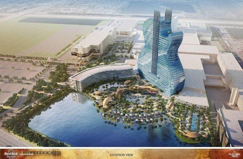Aunque aún se desconocen los detalles del proyecto, desde Hard Rock ya han anunciado que el hotel principal del complejo tendrá forma de guitarra, por lo que podría parecerse al que acaba de empezar a construir en Hollywood (Florida), entre Miami y Fort Lauderdale.
