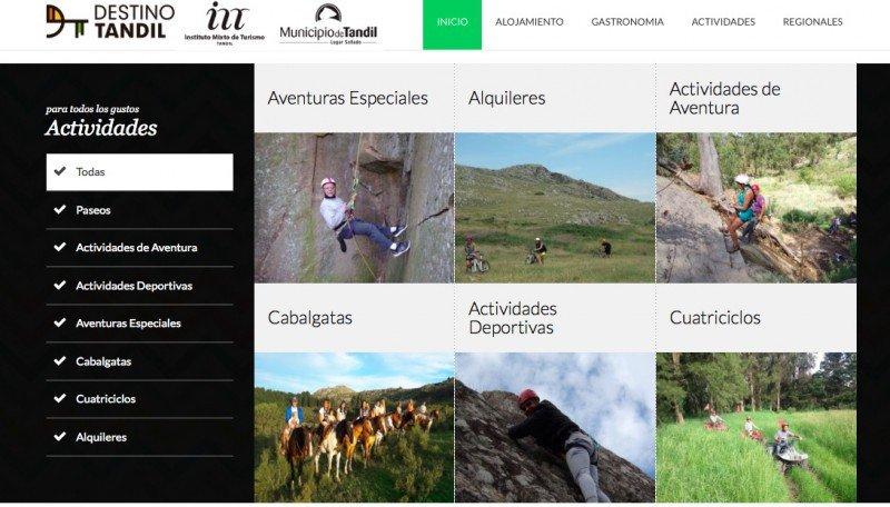 Tandil lanza plataforma de reservas online