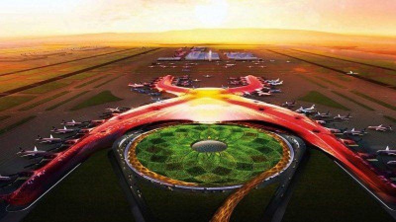 Nuevo aeropuerto de la Ciudad de México.