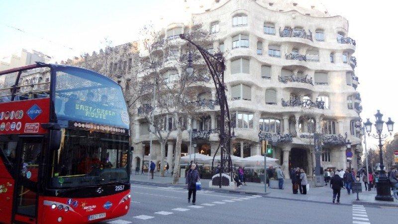 """Recomiendan """"autoprotección"""" sin """"alarmismo""""a los turistas que visitan Barcelona. Foto. J. Lyonnet."""