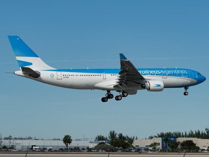 Aerolíneas Argentinas conectará Córdoba y Santiago de Chile