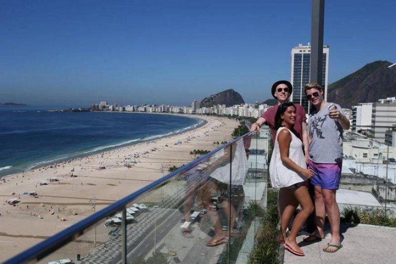 Uno de cada tres turistas que recibe Brasil es argentino