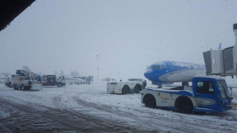 Aeropuerto de Bariloche, provincia de Río Negro.
