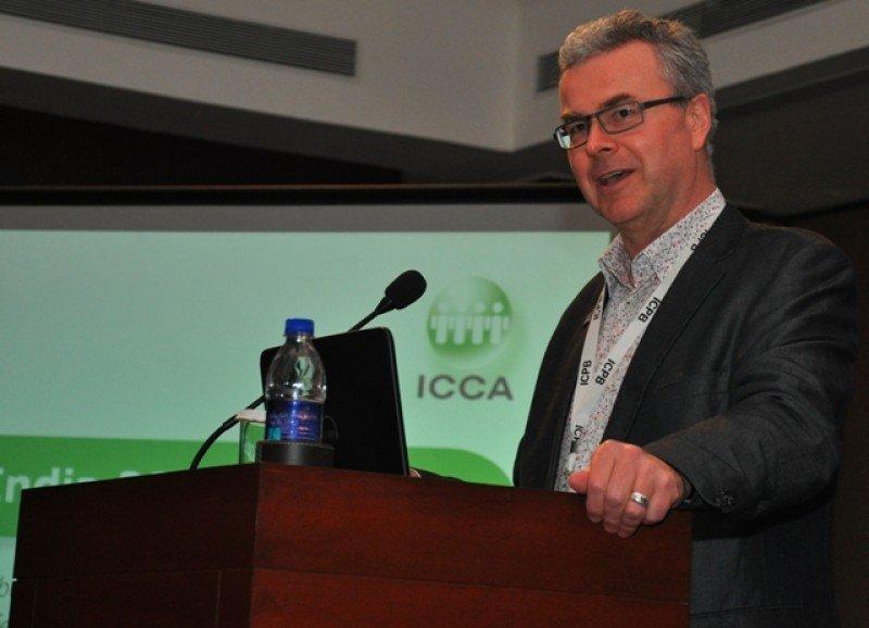 Martin Sirk, CEO de ICCA.