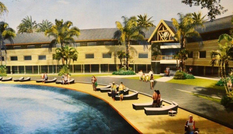 Proyecto para la construcción del nuevo hotel en Termas de Guaviyú.