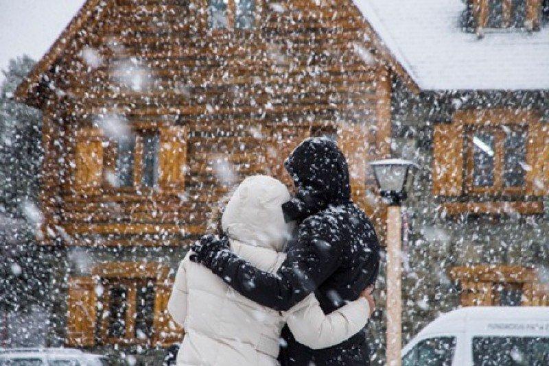 Este fin de semana Bariloche tuvo la mayor nevada de los últimos 20 años. (Foto: EMPROTUR)