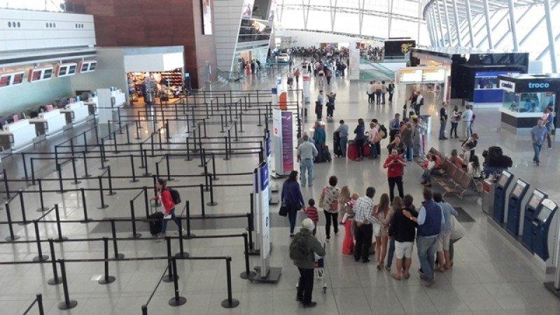 Aeropuerto de Carrasco. Foto. J. Lyonnet.