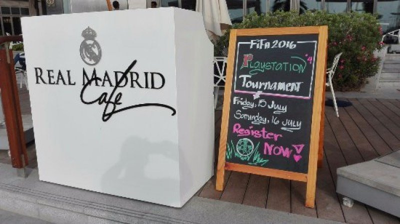 Los restaurantes temáticos de Real Madrid llegan a Sudamérica.