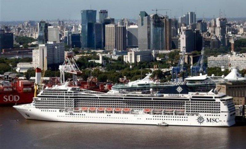 MSC Cruceros piensa en Mar del Plata y el sur de Argentina para futuros itinerarios