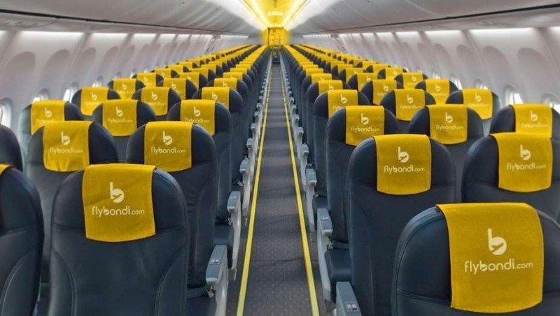 Flybondi se propone hacer crecer 2800% los pasajeros aéreos en Bariloche