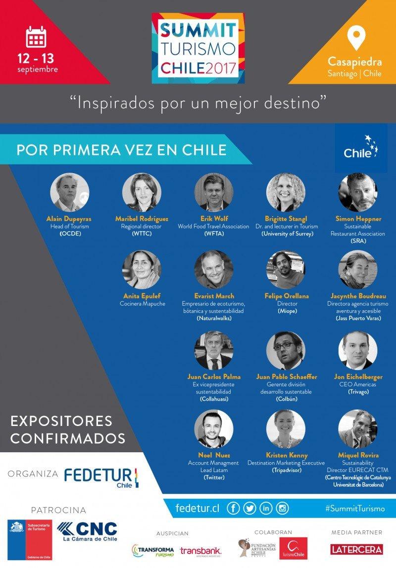 Turismo 3.0 en el centro de Summit Chile 2017