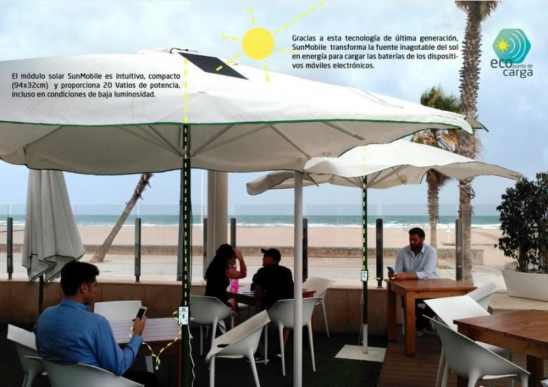 Un nuevo producto textil permite cargar dispositivos con la energía solar.