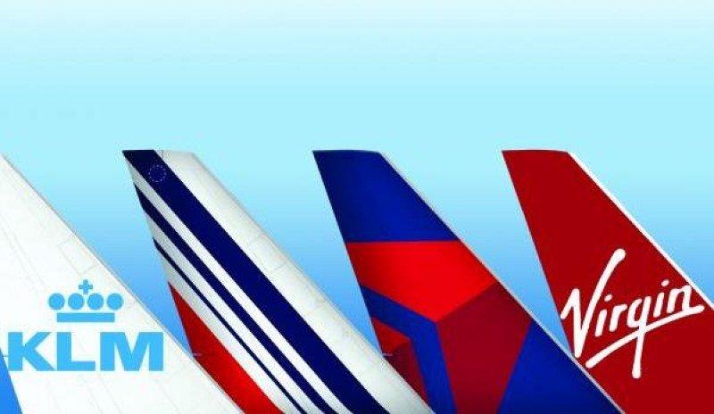 Delta, Air France-KLM y Virgin Atlantic crearán una empresa única