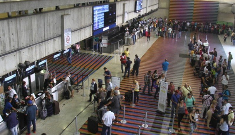 Aeropuerto Internacional Maiquetía, que sirve a Caracas.