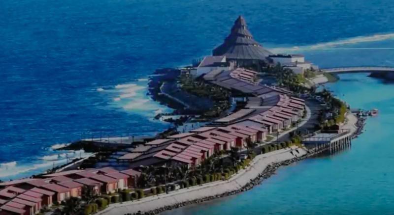 Imagen de archivo de un resort turístico para familias ubicado en Jeddah, en la costa del Mar Rojo de Arabia Saudí.