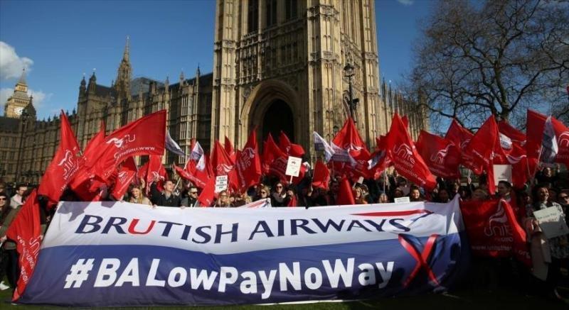 La tripulación de British Airways prolonga su huelga otras dos semanas