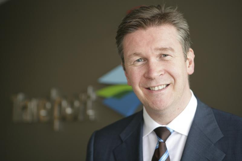 El presidente y CEO  de Travelport, Gordon Wilson.