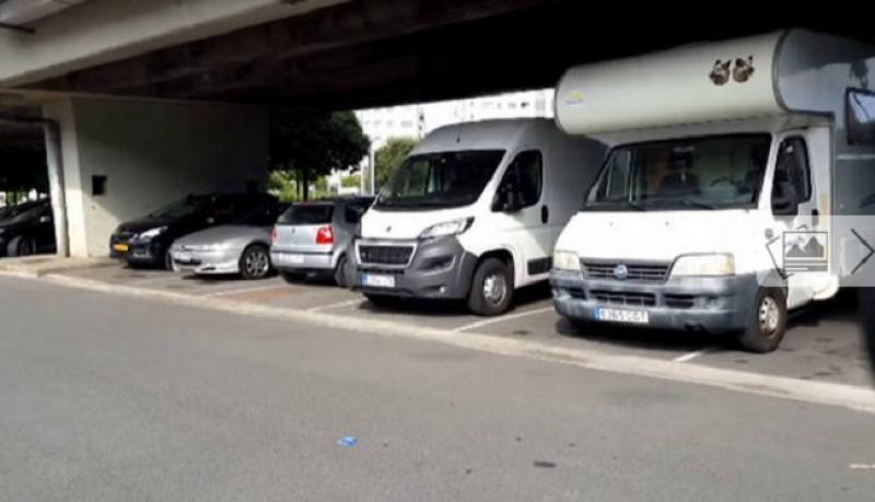 Multa al dueño de una autocaravana que se anunciaba en Airbnb. FOTO: Diario de Navarra