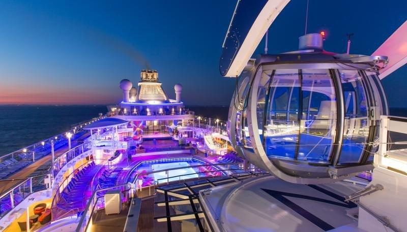 Royal Caribbean ganó 493 M € en el primer semestre, un 77% más