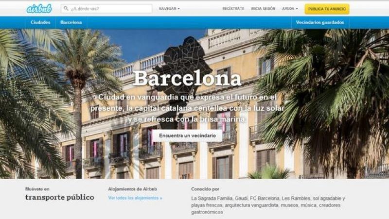Airbnb tienta a Cataluña para que legalice el alquiler de casas enteras