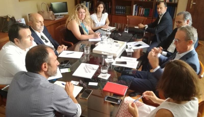 Reunión entre ANEVAL y los representantes de Turismo del Govern balear.