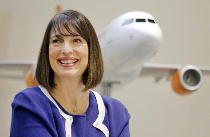 La directora ejecutiva de Easyjet, Carolyn McCall.