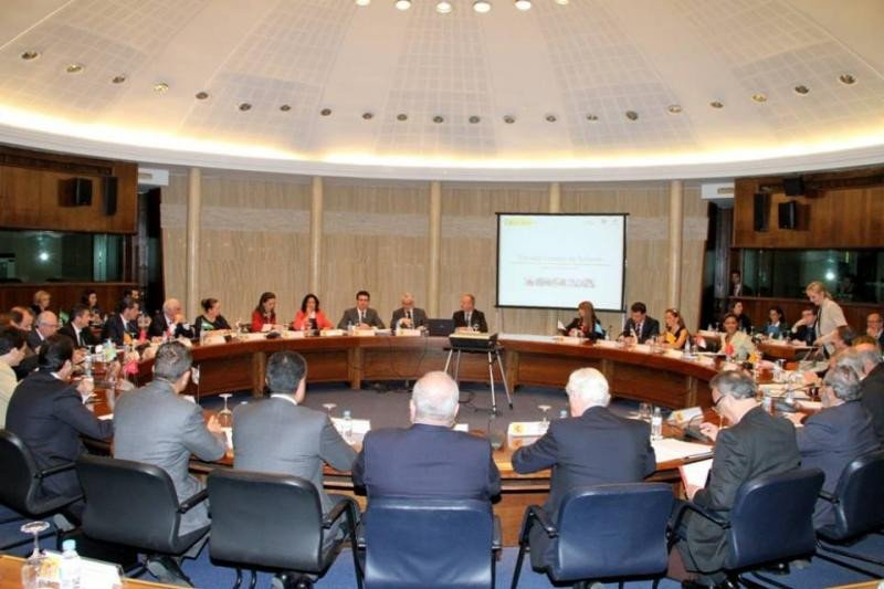 Imagen de archivo de una sesión del Consejo Español de Turismo.