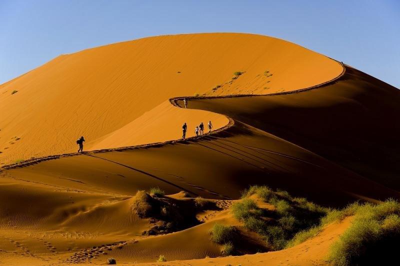 Hospitalizados siete turistas españoles en Namibia tras un accidente de bus