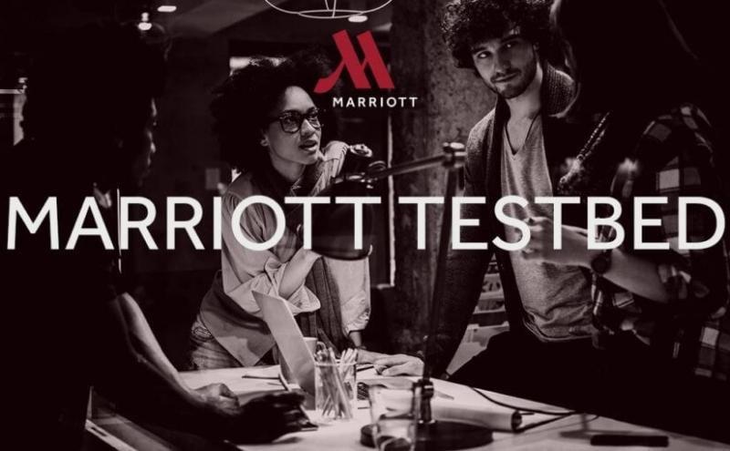 Imagen del programa TestBED de Marriott.