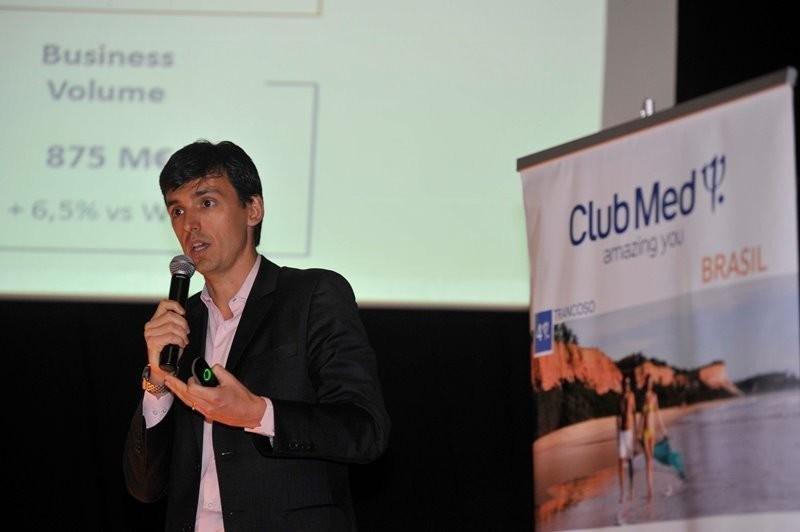Tiago Varalli, director de Club Med para Argentina y países hispánicos de Sudamérica. Foto: Federico Gutiérrez.