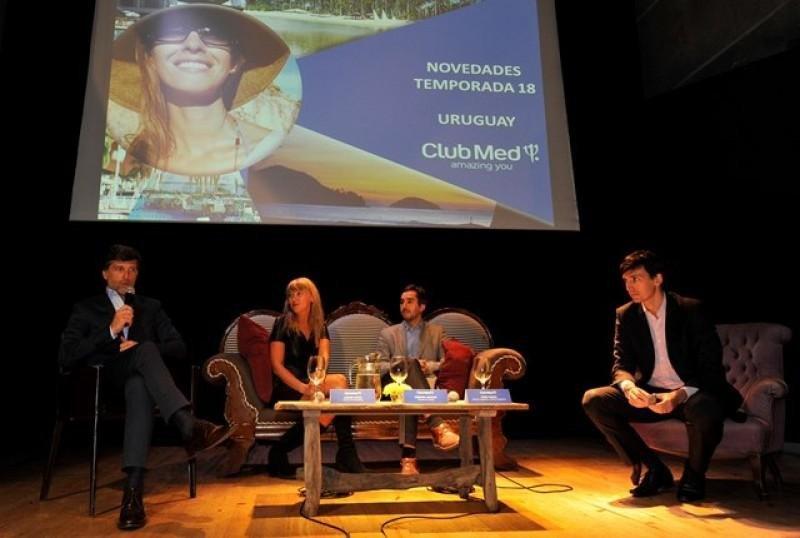 Presentación de Club Med en Montevideo. Foto: F. Gutiérrez.