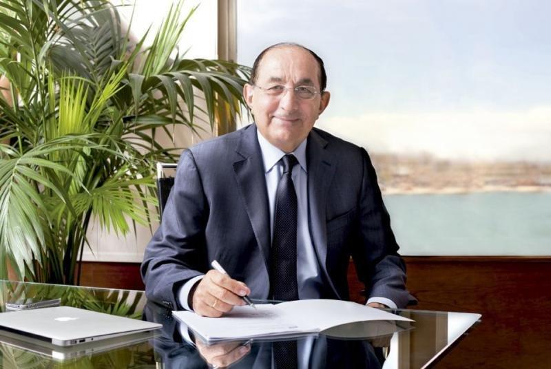 Pablo Piñero, presidente del Grupo Piñero, distinguido por su contribución al turismo y valores humanos.