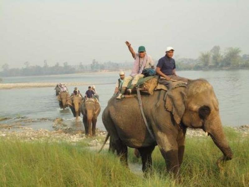 Imagen de archivo: Chitwan National Park Office.