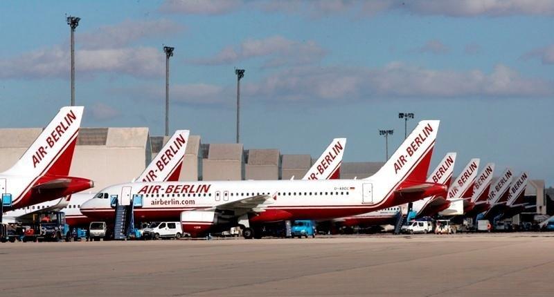 Airberlin cuenta con una flota de 140 aviones.