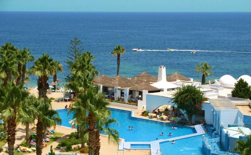 Foto desde el Hotel Orient Palace Sousse. HotelsTunisie.tn.