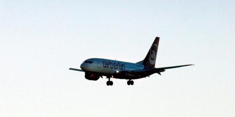 Un avión de Airberlin