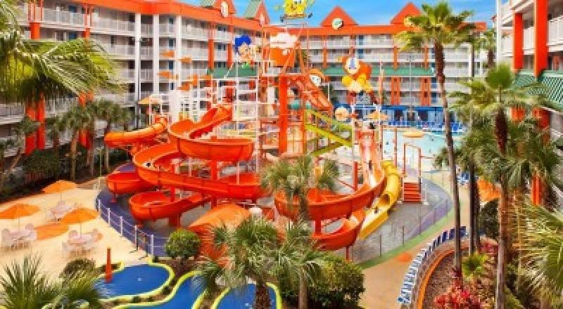 Complejo de Nickelodeon en Uvero Alto, República Dominicana, a 25 kilómetros de Punta Cana.